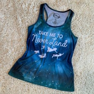 Disney's Peter Pan Neverland Tank Size Medium